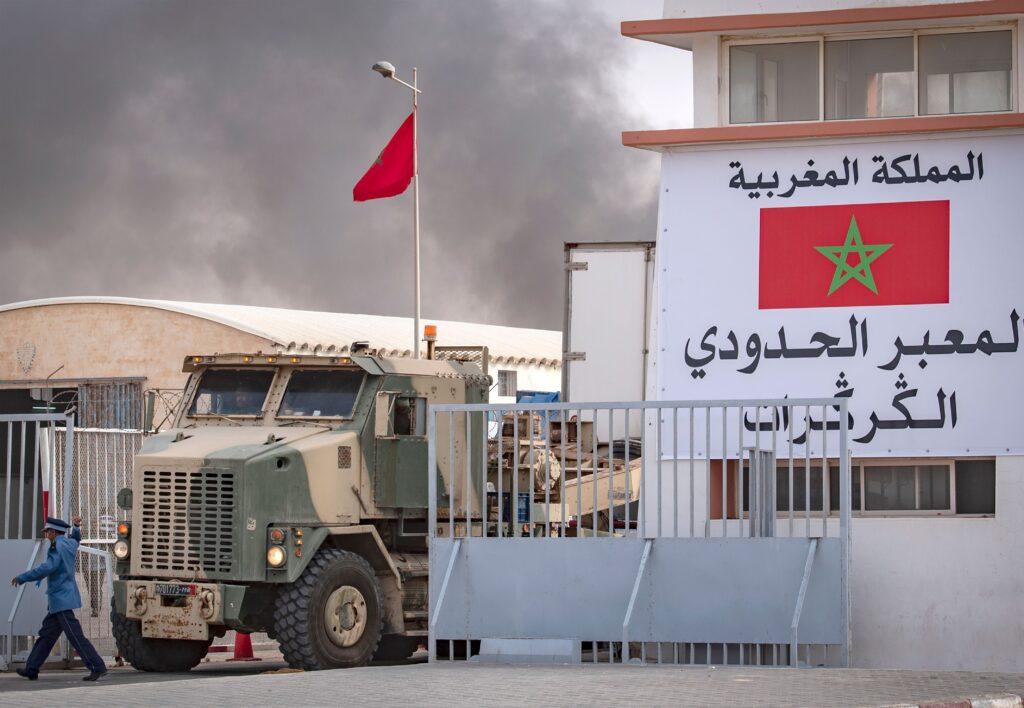 المغرب يؤكد للأمم المتحدة رفضه الانسحاب من معبر الگرگرات